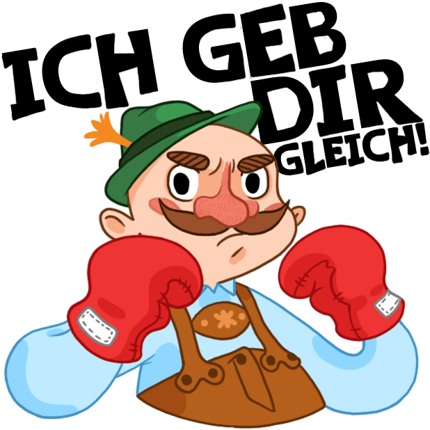 Typisch Deutsch — Stickers by DeutschEffekt messages sticker-9