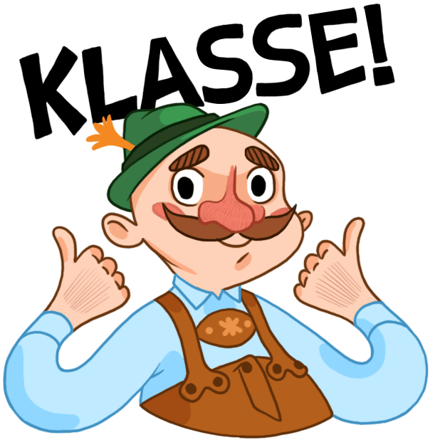 Typisch Deutsch — Stickers by DeutschEffekt messages sticker-4