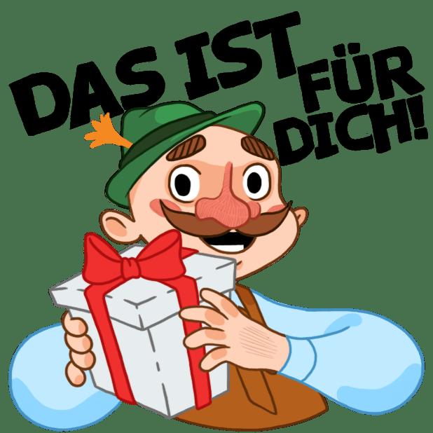 Typisch Deutsch messages sticker-2