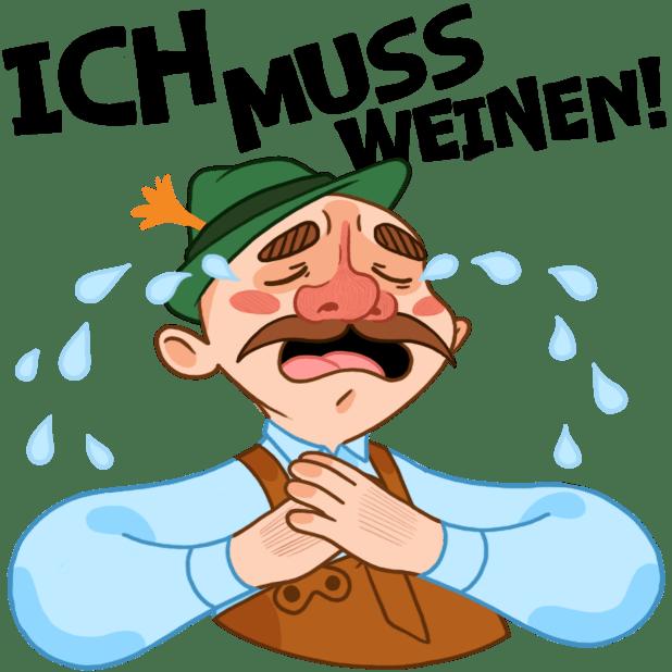 Typisch Deutsch messages sticker-3