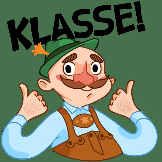 Typisch Deutsch messages sticker-4