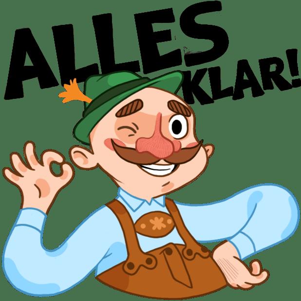 Typisch Deutsch messages sticker-6