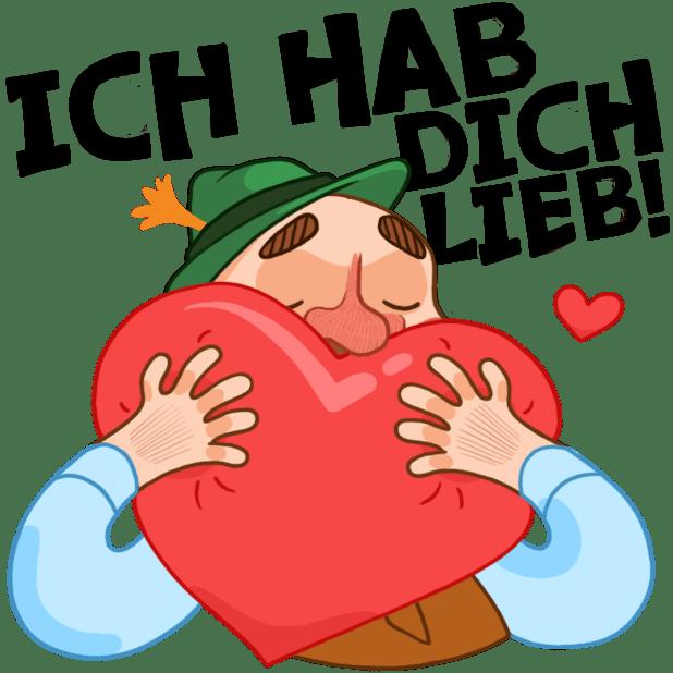 Typisch Deutsch messages sticker-5