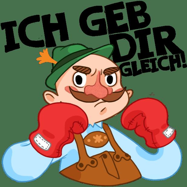 Typisch Deutsch messages sticker-9