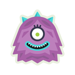 Monster Scout Stickers messages sticker-3