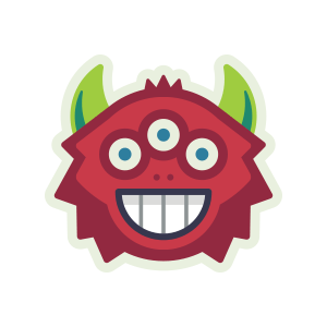 Monster Scout Stickers messages sticker-0