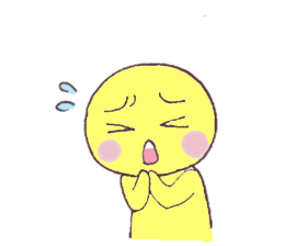 Funny Yellow Man Stickers messages sticker-10