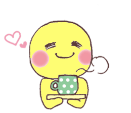 Funny Yellow Man Stickers messages sticker-3