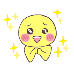 Funny Yellow Man Stickers messages sticker-7