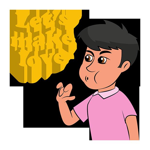 Italian Gestures - Speak with your Hands messages sticker-3