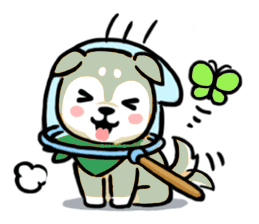 Aktos Puppy Stickers messages sticker-4