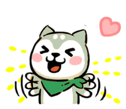 Aktos Puppy Stickers messages sticker-1