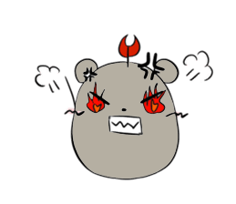 Grey Mousy Stickers messages sticker-8