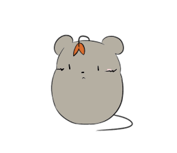 Grey Mousy Stickers messages sticker-9