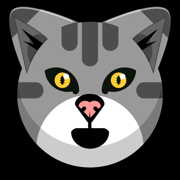 Kitty Cat Stickers - Feline Emoji Meme messages sticker-2
