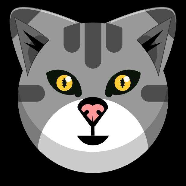 Kitty Cat Stickers - Feline Emoji Meme messages sticker-0