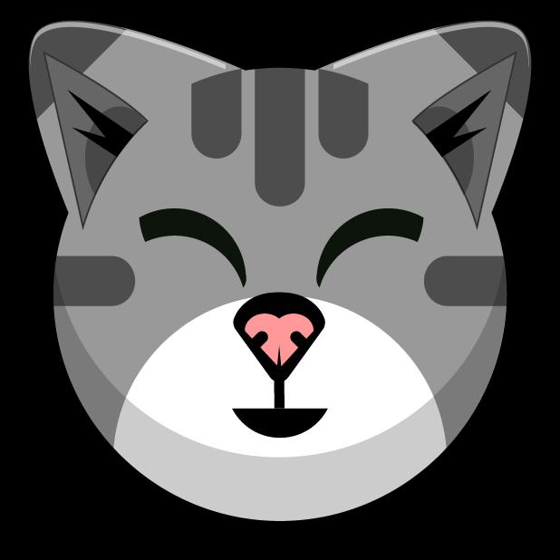 Kitty Cat Stickers - Feline Emoji Meme messages sticker-6
