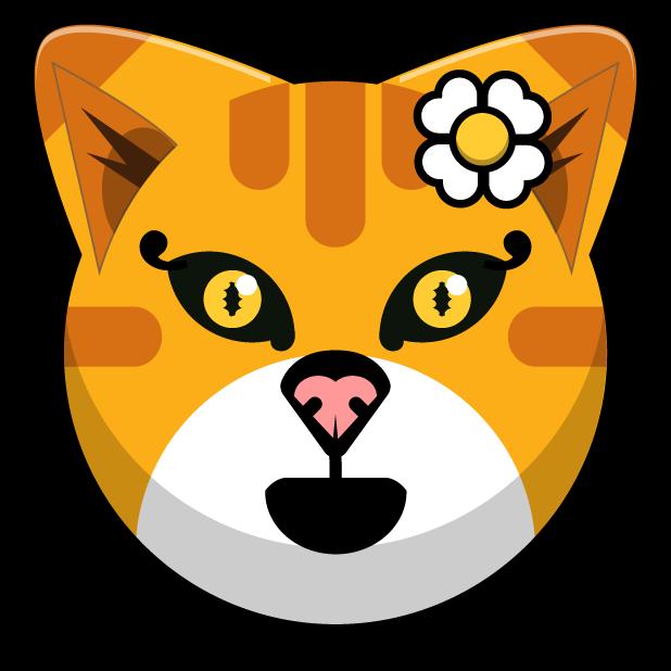Kitty Cat Stickers - Feline Emoji Meme messages sticker-3