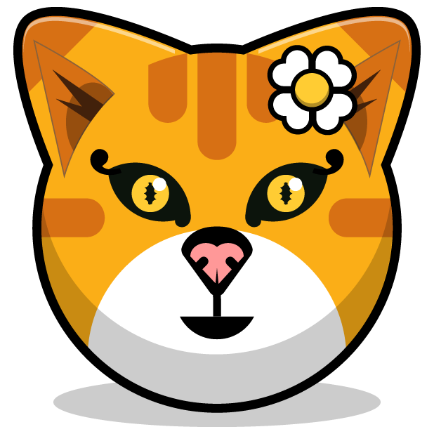 Kitty Cat Stickers - Feline Emoji Meme messages sticker-1