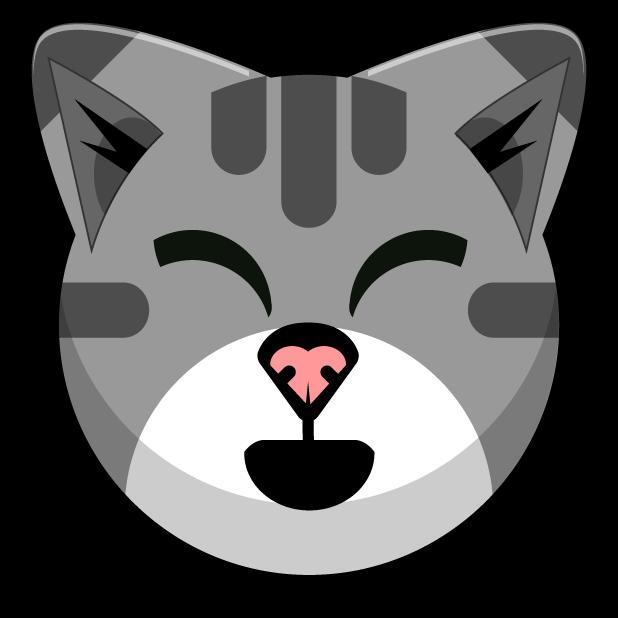 Kitty Cat Stickers - Feline Emoji Meme messages sticker-4
