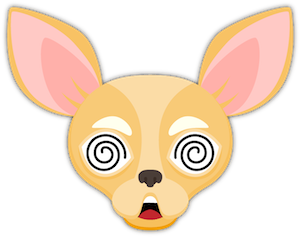 Fawn Chihuahua Emoji Stickers messages sticker-11