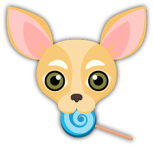 Fawn Chihuahua Emoji Stickers messages sticker-3