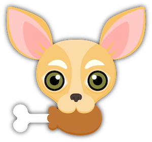 Fawn Chihuahua Emoji Stickers messages sticker-4