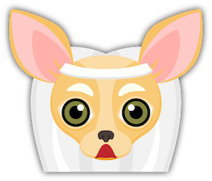 Fawn Chihuahua Emoji Stickers messages sticker-1