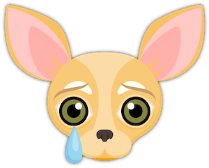Fawn Chihuahua Emoji Stickers messages sticker-10