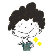 Curly Boy Stickers messages sticker-1