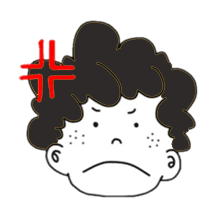Curly Boy Stickers messages sticker-9