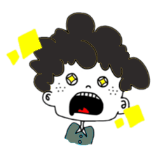 Curly Boy Stickers messages sticker-11