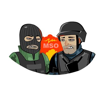 Modern Strike Online: PvP FPS messages sticker-8