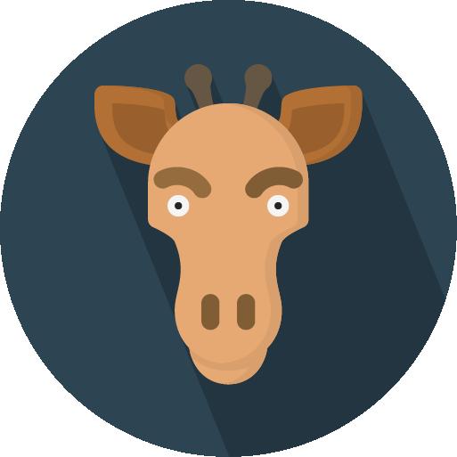 Flatimals - Flat Animal Sticker Pack for iMessage messages sticker-8