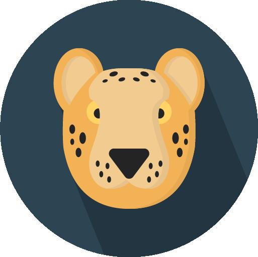 Flatimals - Flat Animal Sticker Pack for iMessage messages sticker-6
