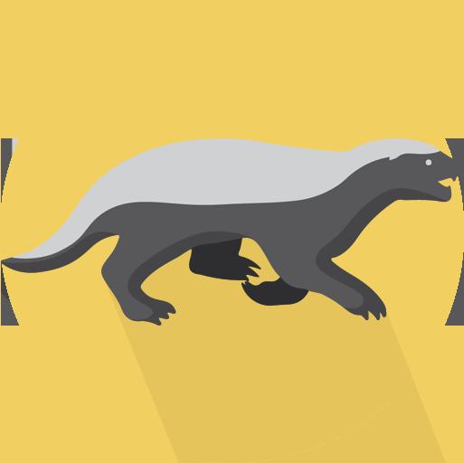 Flatimals - Flat Animal Sticker Pack for iMessage messages sticker-5
