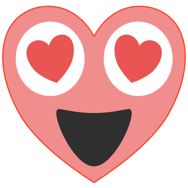 Heart Emoji's messages sticker-7