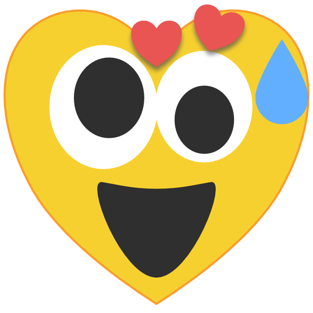 Heart Emoji's messages sticker-6