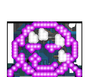 Neon message messages sticker-10