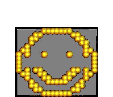 Neon message messages sticker-8