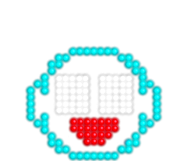 Neon message messages sticker-11