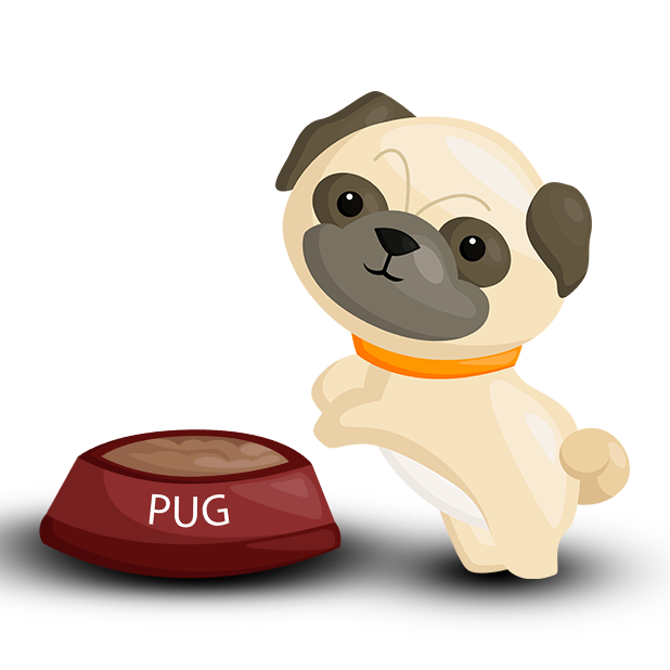 Pug Emoji & Stickers messages sticker-6
