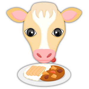 Blonde White Cow messages sticker-9
