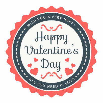 Valentines Day 2017 Stickers messages sticker-11