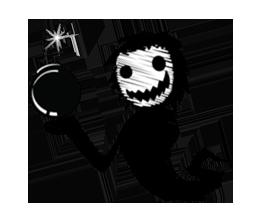 Ghost Best Stickers messages sticker-11