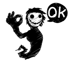 Ghost Best Stickers messages sticker-1