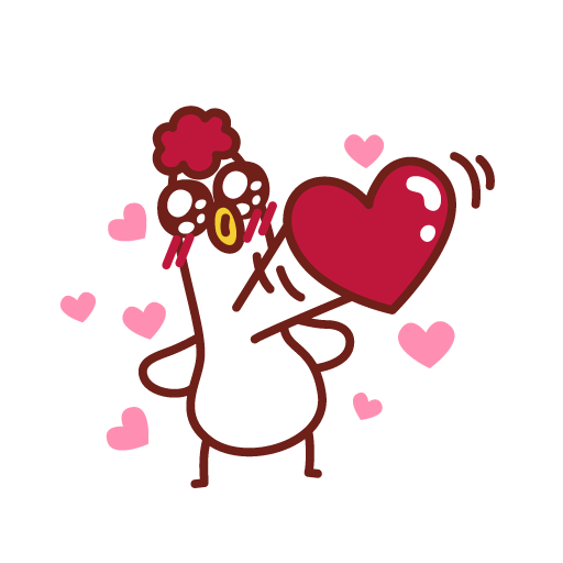 The Handsome Rooster - Happy Lunar New Year messages sticker-5