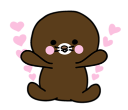 Lovely Brown Mole Stickers messages sticker-8