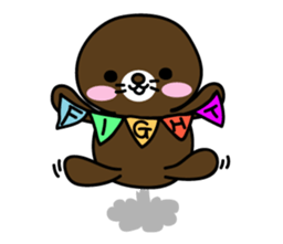 Lovely Brown Mole Stickers messages sticker-11