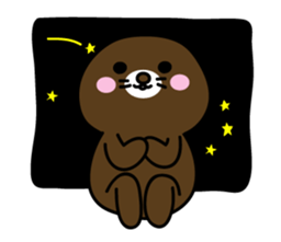 Lovely Brown Mole Stickers messages sticker-9